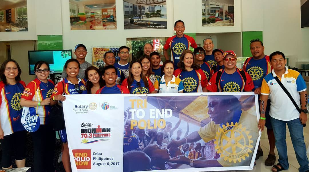 Rotary Philippines Tri to End Polio