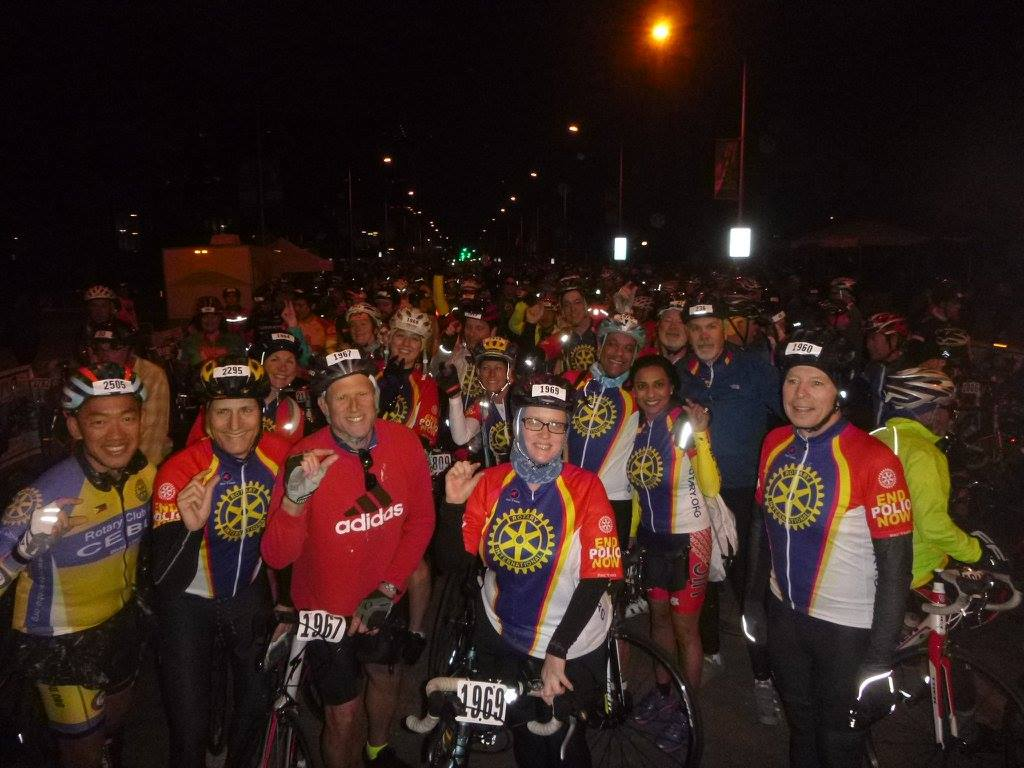 Ride to End Polio
