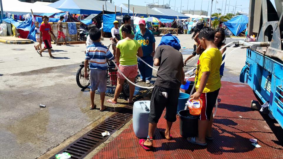 Relief Efforts For The Fire Victims In Mantuyong And Guizo