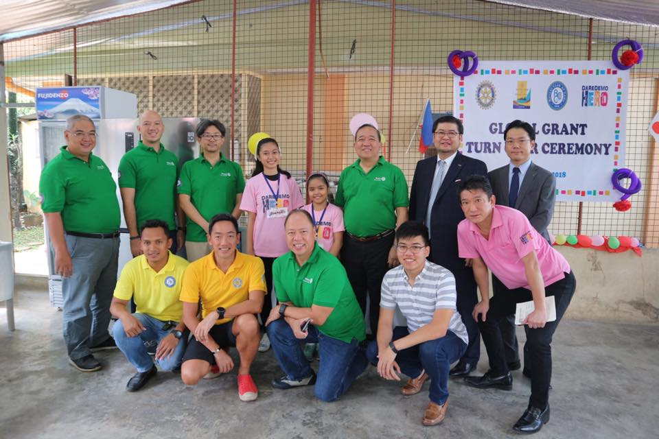 RC Cebu – RC Osaka Urban Global Grant Turnover Ceremonies