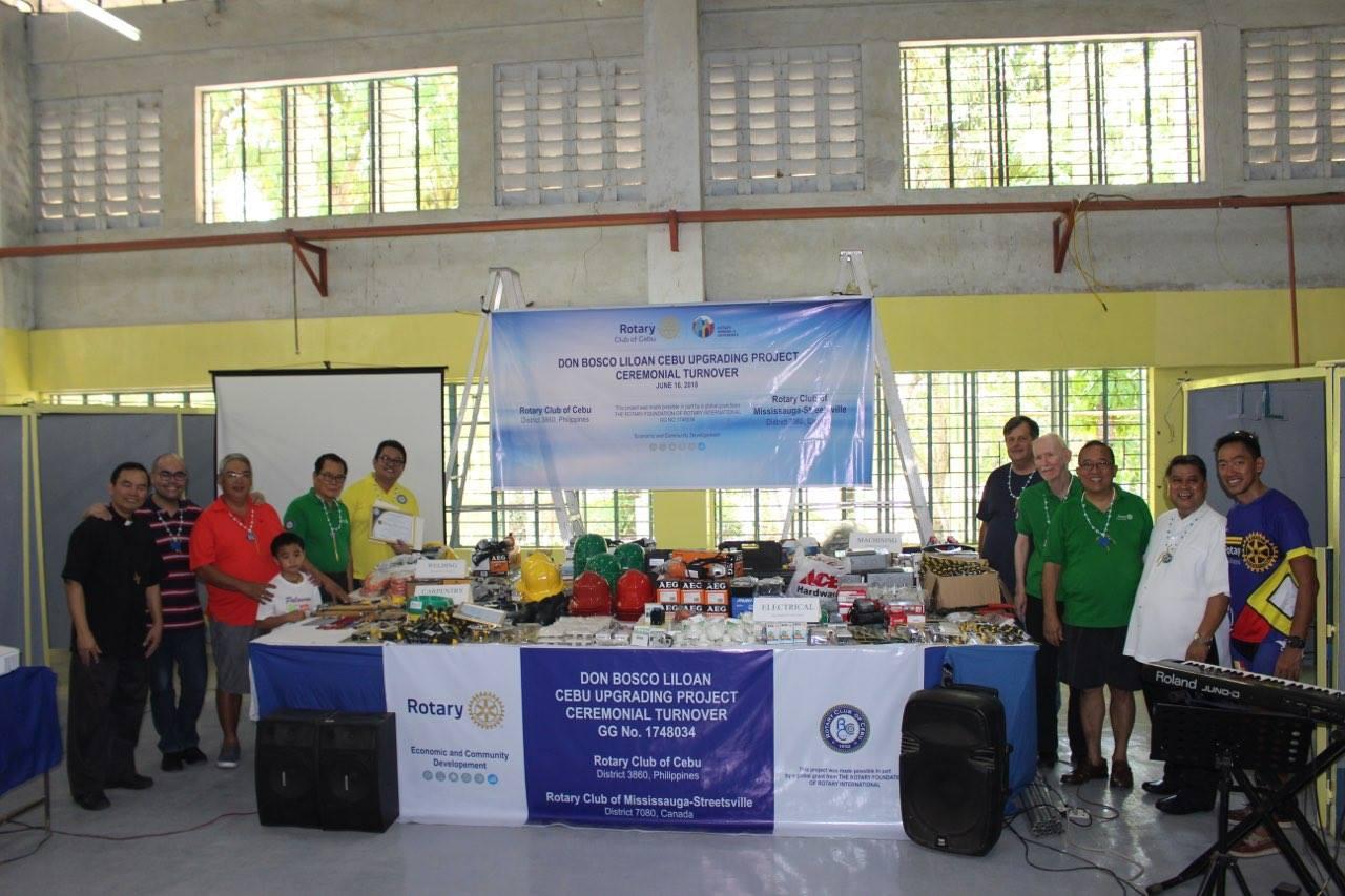 Don Bosco Liloan Cebu Turnover