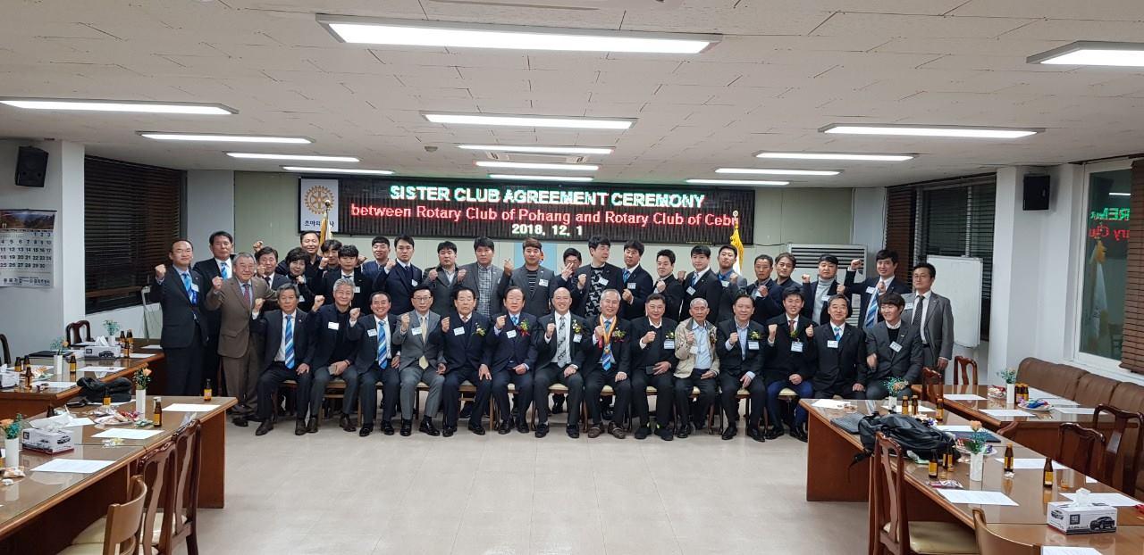 RCC visits RC Daegu Taebaek & RC Pohang