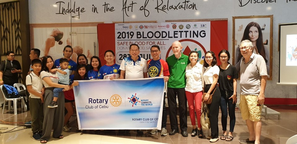 2019 One Rotary One District Bloodletting