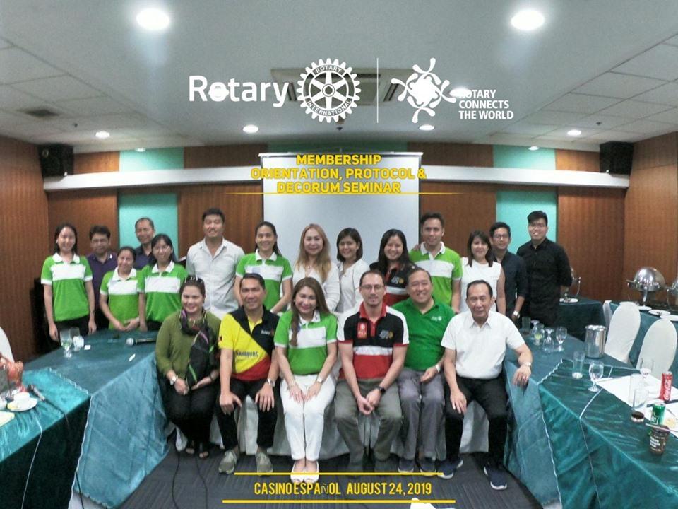 RCC Membership Orientation & Protocol Seminar